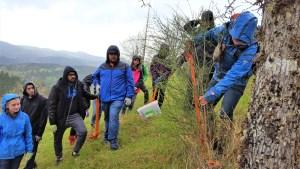 OSU Earth Day volunteers